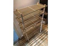 Shoe rack 3x stackable