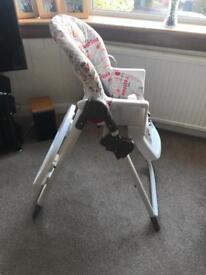 Highchair excellent condition lightly used
