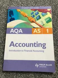 AQA ACCOUNTING BOOK