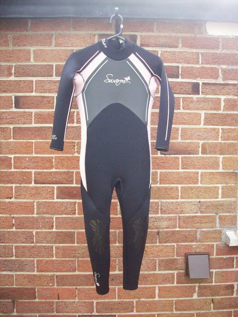 girls swarm winter wetsuit age 8 to 11 years