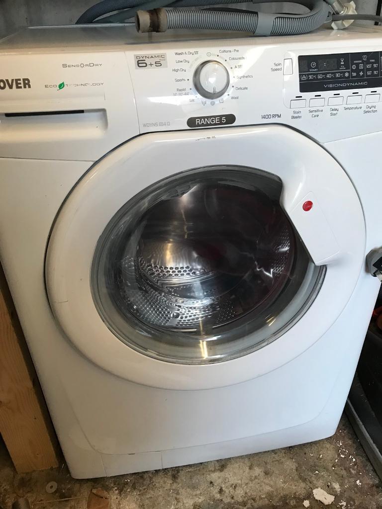 Washer Dryer (Hoover WDYNS 654D)