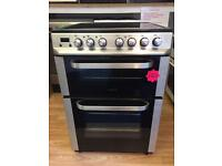 ***Silver Servis 60cm ceramic cooker***Free Delivery**Fitting**Removal