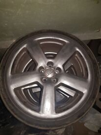 "5x100 18"" Audi wheels"