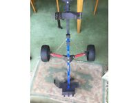 GOLF TROLLEY FOR A KEEN YOUNGSTER