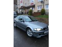Bmw 318 (2.0) m-sport auto 2004 facelift black leather may swap px