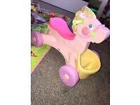Fisher Price Brilliant Basics Musical Pony