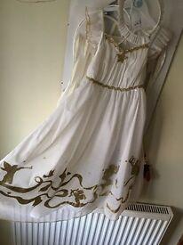 Angel nativity dress
