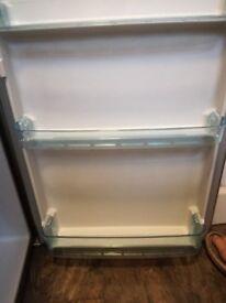 Logic under counter fridge in silver/grey.