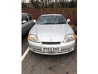 Hyundai Coupe 2004, 2 litre 77k Urgent sale £650