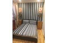 Furnish double bed room