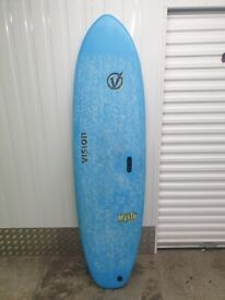Vision Mysto Surfboard - 6'6ft *Used Once*