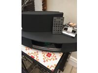 BOSE WAVE MUSIC SYSTEM WITH IPOD, DAB, REMOTE