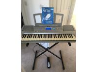 Yamaha Portatone electric keyboard