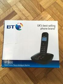BT digital cordless phone with answer machine