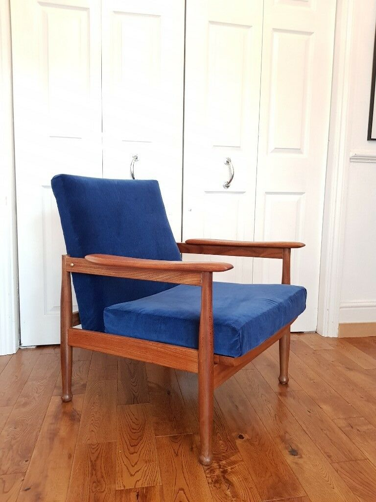 Mid Century Vintage Armchair By Guy Rogers In South East London