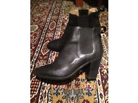 Black leather Tony Bianco boots size 5.5
