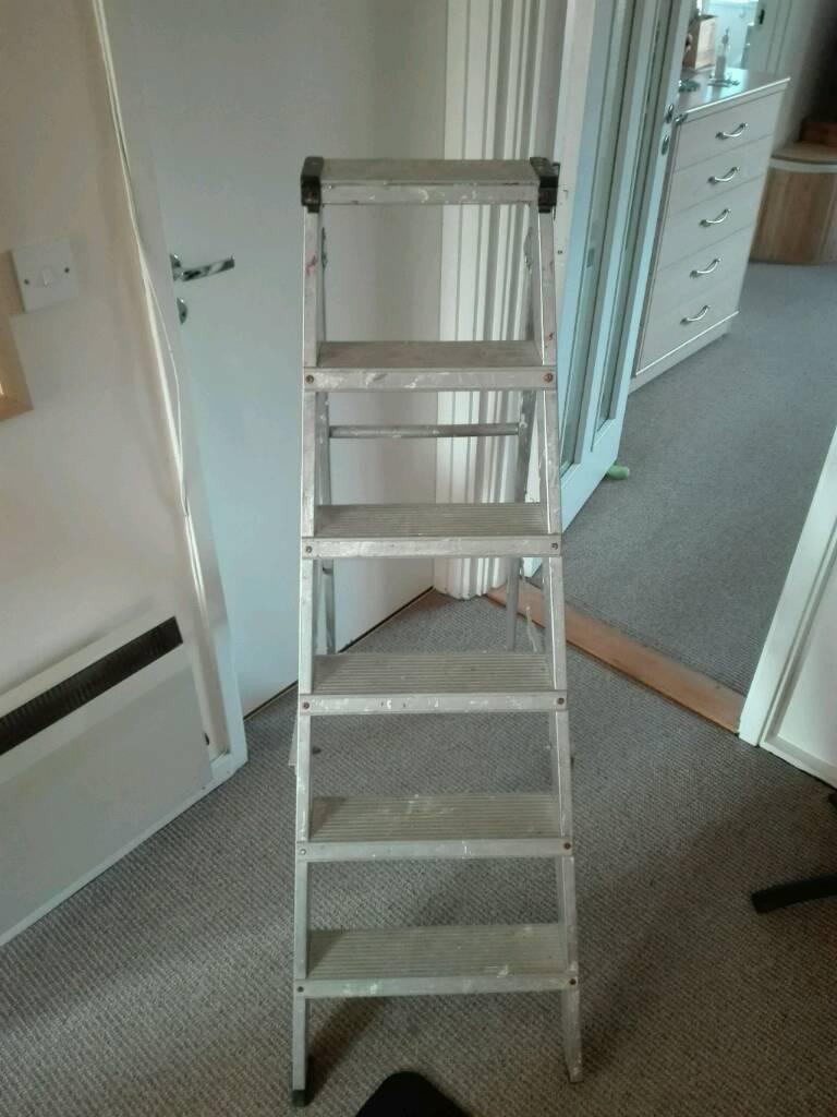 Aluminium ladder 6 step