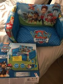 New 2in 1 paw patrol sofa