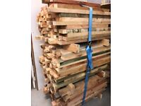 4x2 timber off cuts treated 100 lengths job lot 1m - 1.20m long