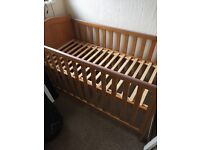 Cot bed (mothercare)