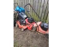 Lawnmowers Spares or repair