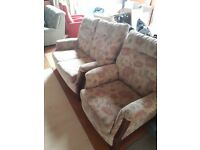 2 seater sofa ×2 chairs £75 must go