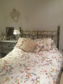 Double Bed Frame with or without Mattress - JUST LOWERED THE PRICE!!