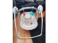 Neutral baby swing