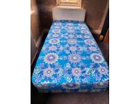 Dunlopillo Firm Edge Single Bed and with Matching Single Mattress