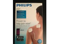 Philips PulseRelief TENS/EMS Wireless Electrotherapy. App-Controlled Wireless Pain Relief