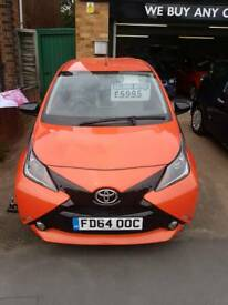 TOYOYA AYGO 1.0 VVT-IX-CITE 5 DR LOW MILEAGE STUNNING LITTLE CAR
