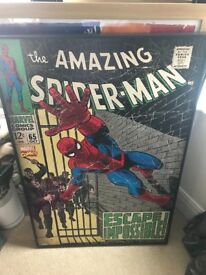 Spider-Man retro picture excellent condition