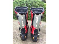 Gaerne Motorcycle boots - RED - Size 9 UK - 43 EURO
