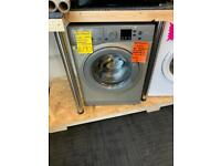 7kg ld grey Hotpoint 1600 spin washing machine