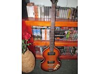 Epiphone Viola Bass Guitar with Amp and Soft Case Great Set - offers welcome!!
