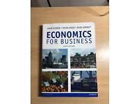 Economics for Business sixth edition