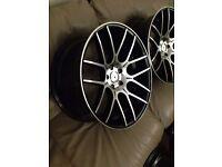 "20"" 10j 5 x 112pcd alloy wheels brandnew"
