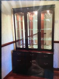GOLA mahogany wall unit