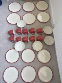CHERRY Denby Pottery Cook and Dine Various Pieces Amazing Purchase!!