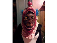 CLOWN SCARY MASK FANCY DRESS / HALLOWEEN will deliver within 5 miles of Glasgow City