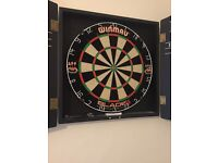 Winmau dart board for sale.