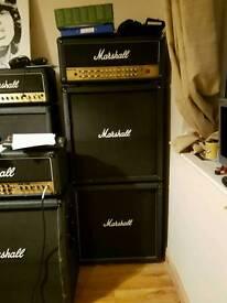 Marshall AVT150h full stack guitar amp