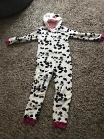 Girls John Lewis Dalmatian onesie Age 11 yrs