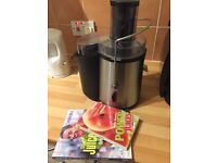 High Powered Juicer & Two Juice Recipes Guides