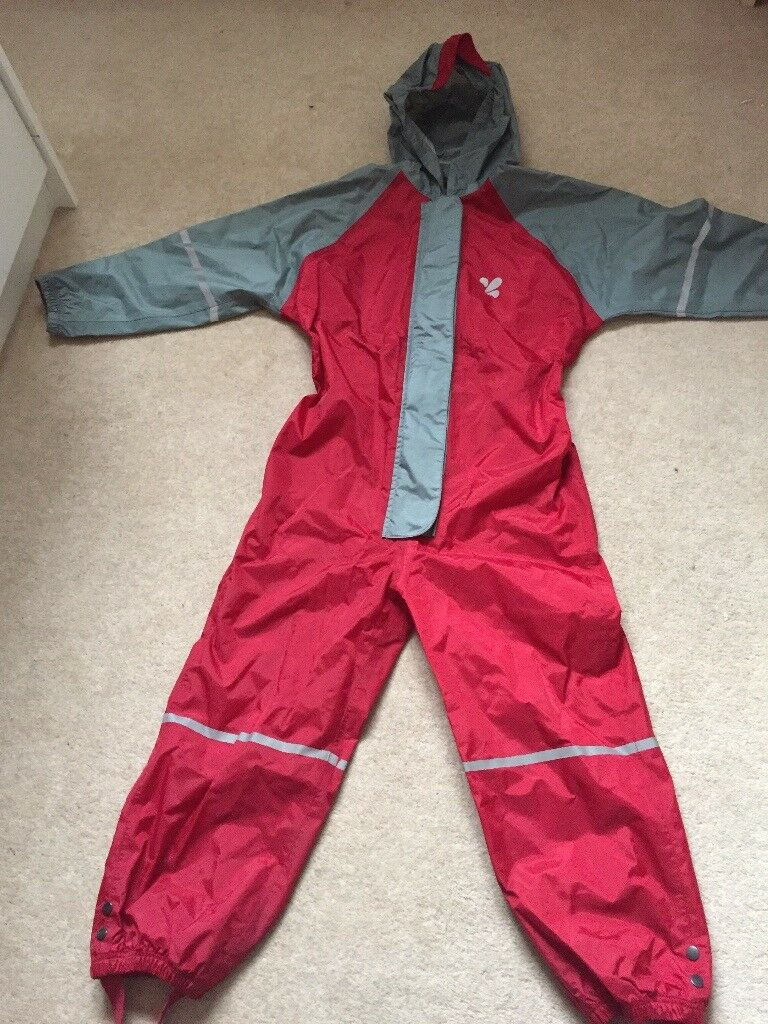 Muddy Puddles Rain Suit Age 5-6yrs
