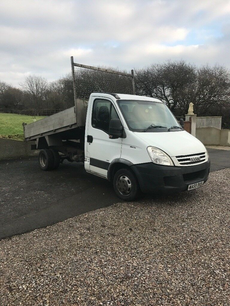 Iveco daily 35C12 tipper 2009