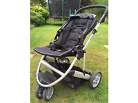 Mamas & Papas black Zoom buggy bundle - amended to £50 as needs to go