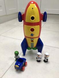 Carousel Toy Rocket - £5
