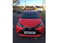 Toyota Aygo 2014, 5 dr, low mileage, excellent condition 0 pounds road tax