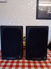 Wharfedale Diamond 7 100 watt speakers